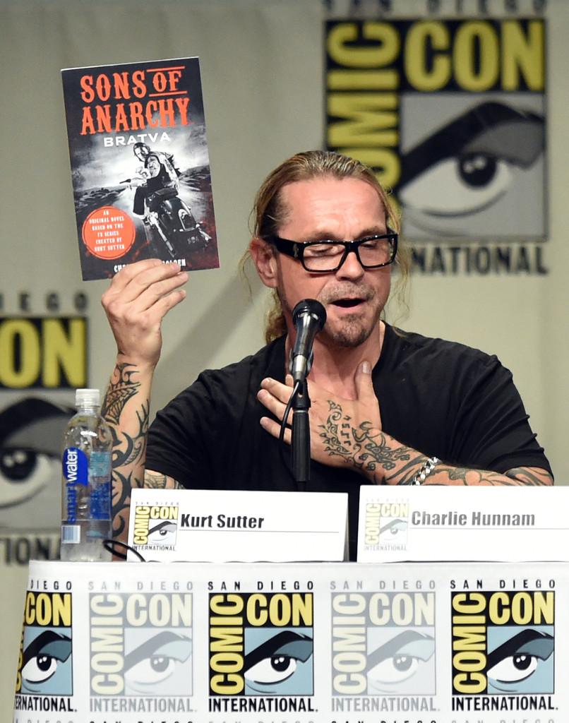 Kurt Sutter mostra il romanzo basato su Sons of Anarchy