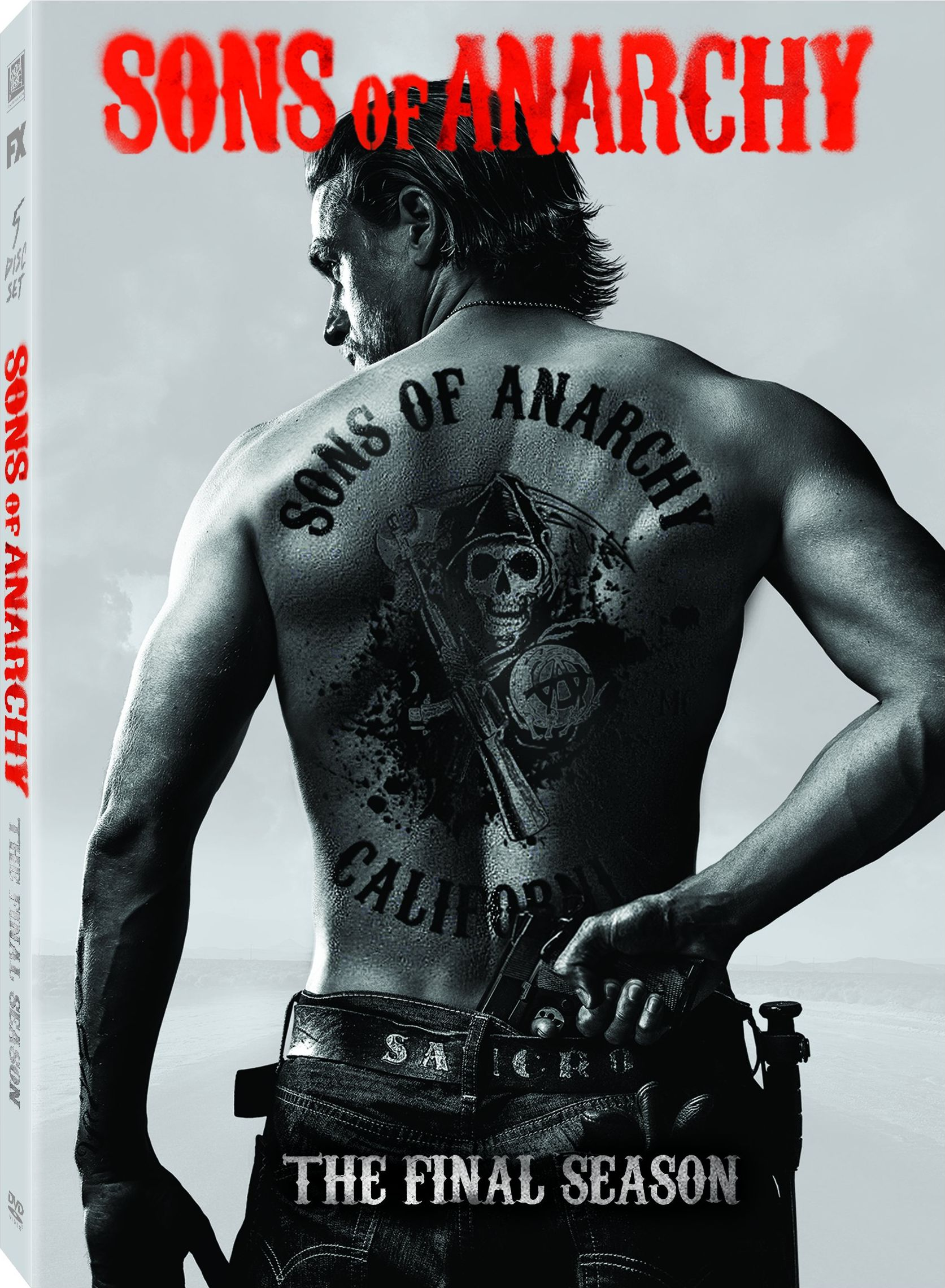 Sons of Anarchy Season 7 DVD Cover