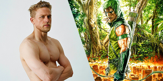 "Charlie Hunnam dice no a ""Green Arrow"""
