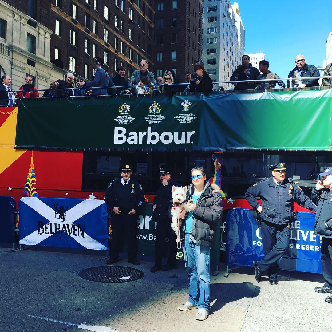 Tommy Flanagan Tartan Day Parade 2017