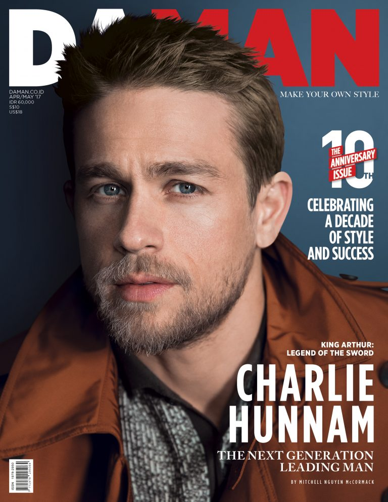 Charlie Hunnam DAMAN Cover