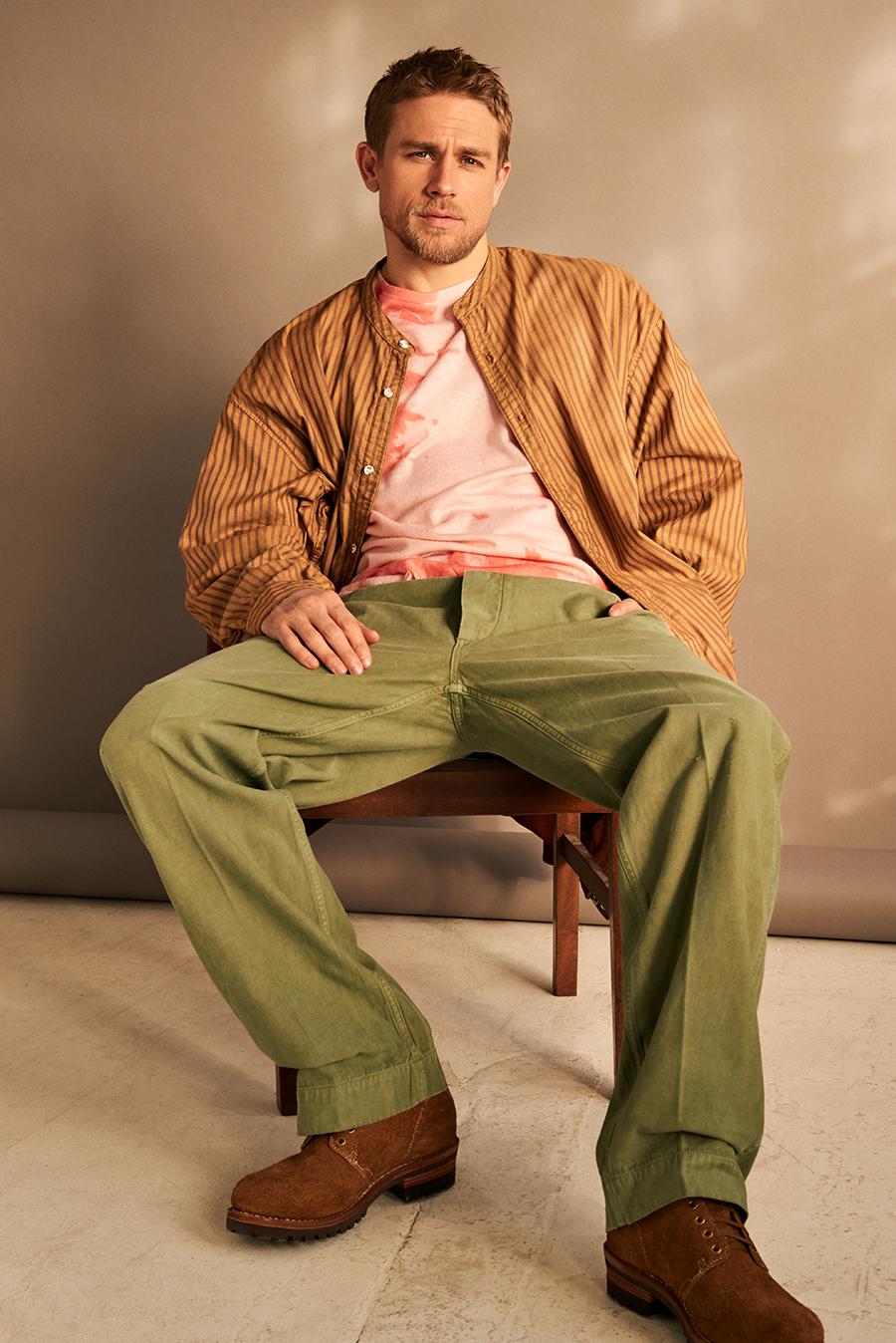 Charlie Hunnam MR PORTER