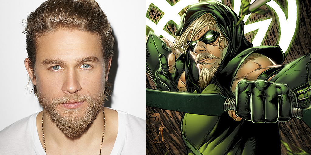 Charlie Hunnam Green Arrow